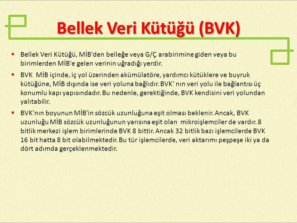 Bellek Veri Kütüğü (BVK)