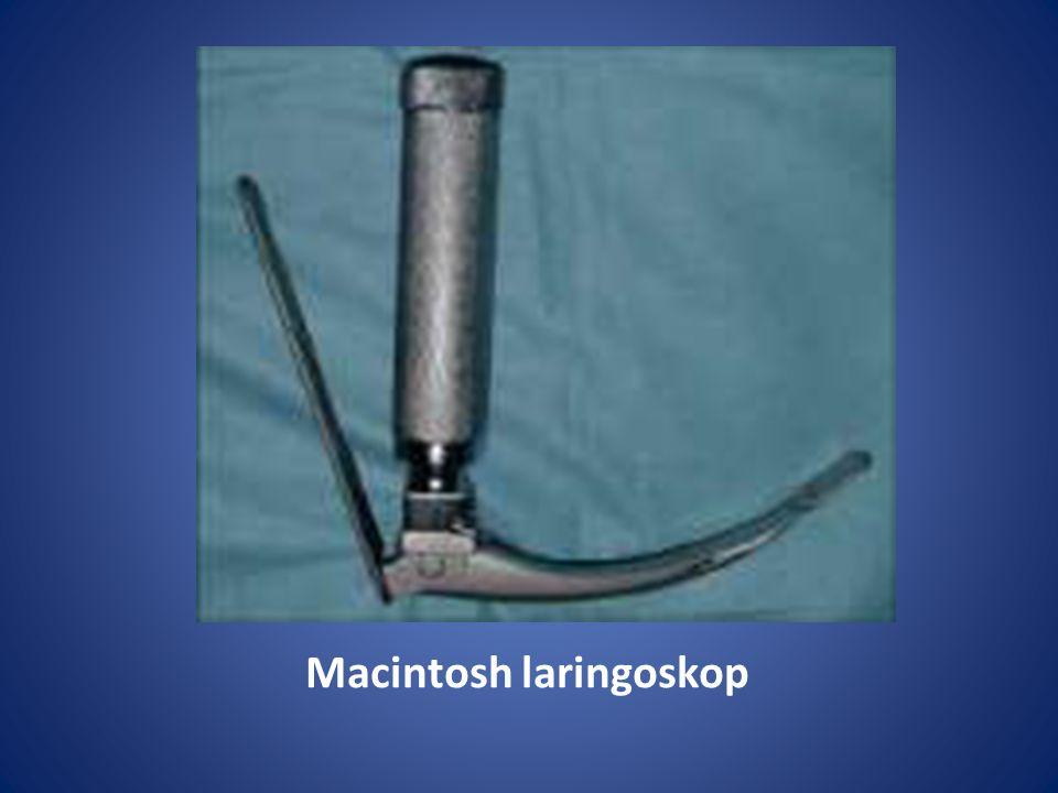 Macintosh laringoskop