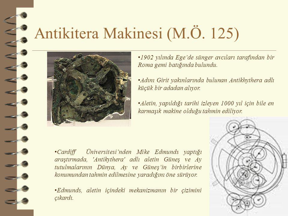 Antikitera Makinesi (M.Ö. 125)