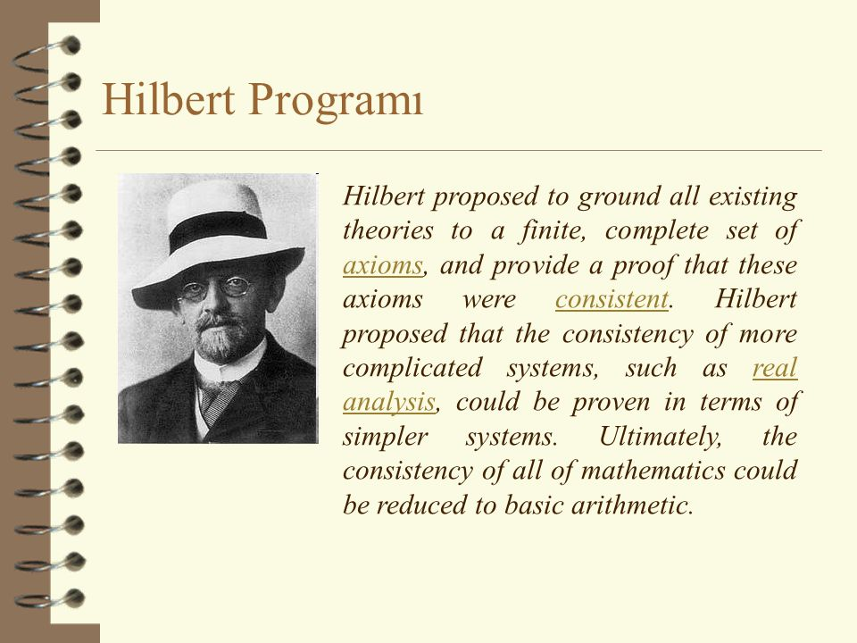 Hilbert Programı