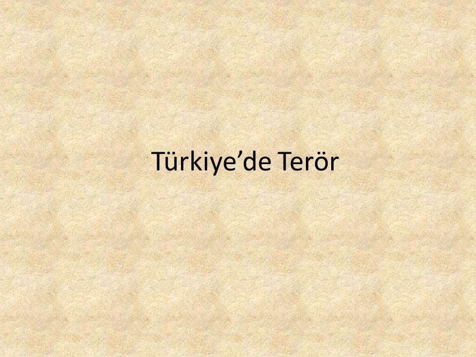Türkiye'de Terör