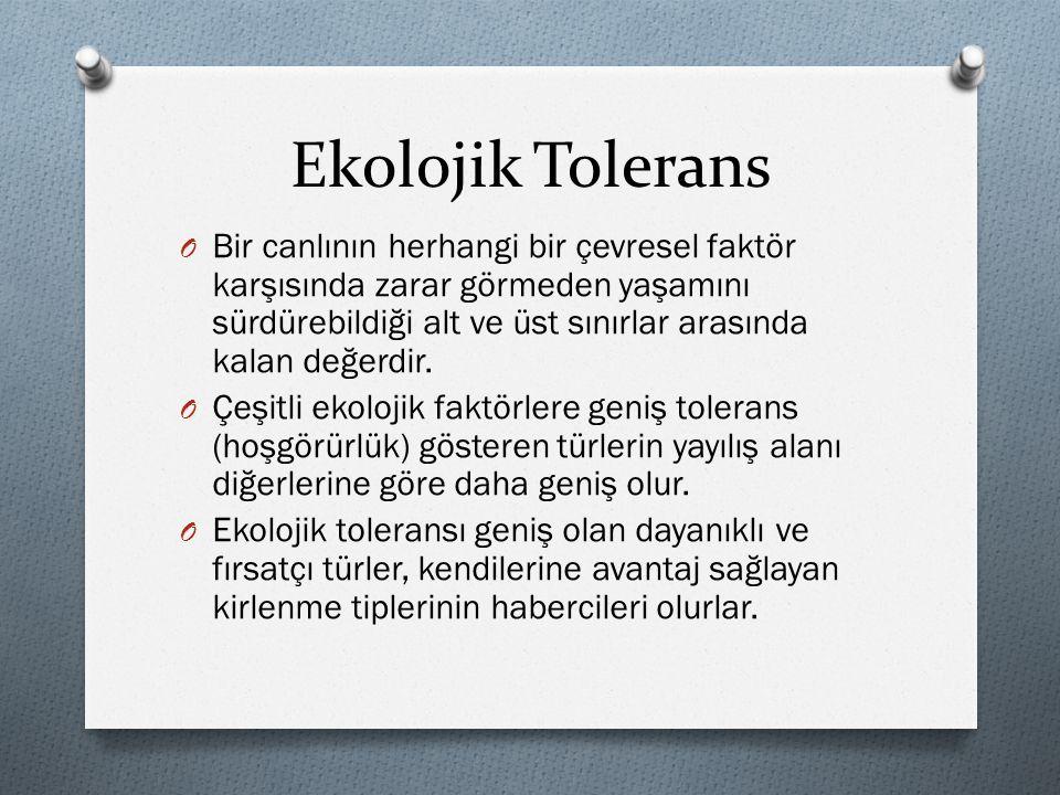Ekolojik Tolerans