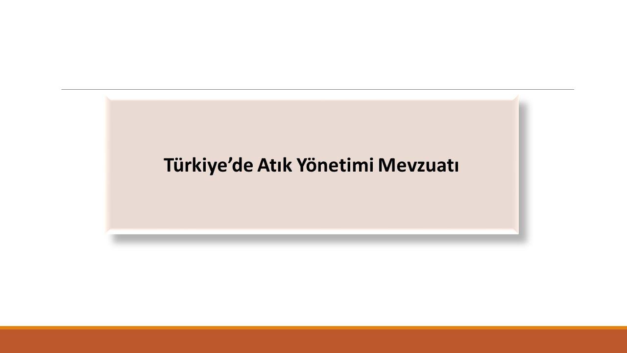 Türkiye'de Atık Yönetimi Mevzuatı