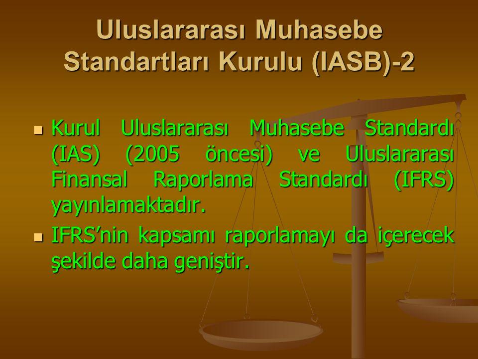 Uluslararası Muhasebe Standartları Kurulu (IASB)-2