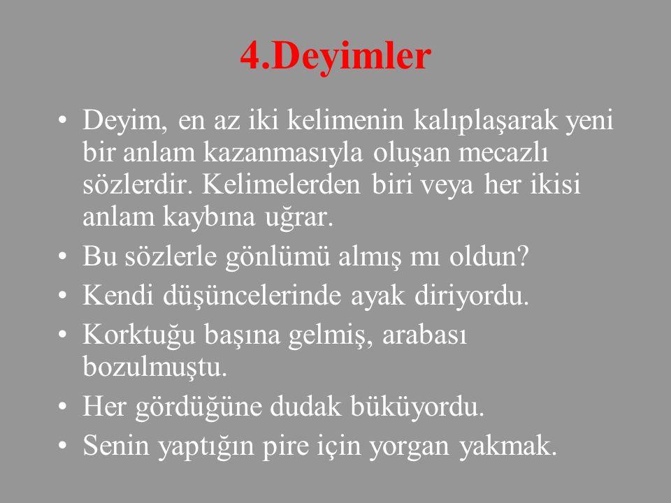 4.Deyimler