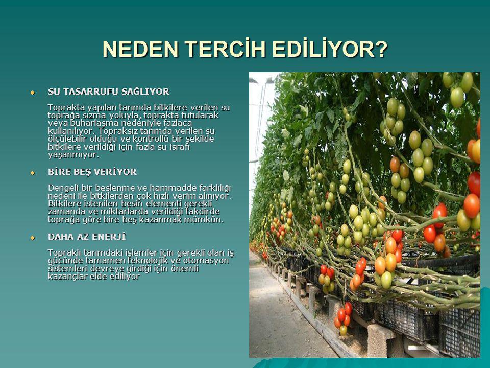 NEDEN TERCİH EDİLİYOR