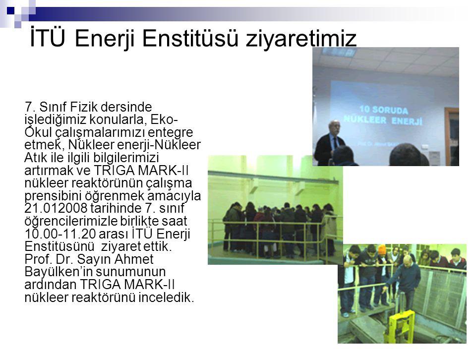 İTÜ Enerji Enstitüsü ziyaretimiz