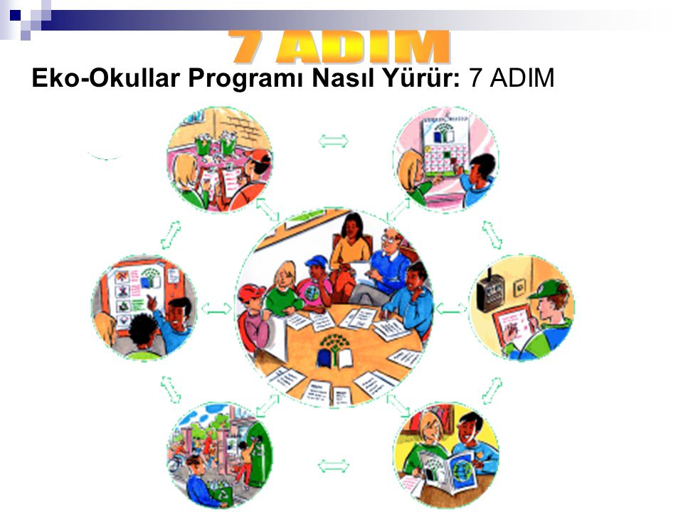 7 ADIM Eko-Okullar Programı Nasıl Yürür: 7 ADIM