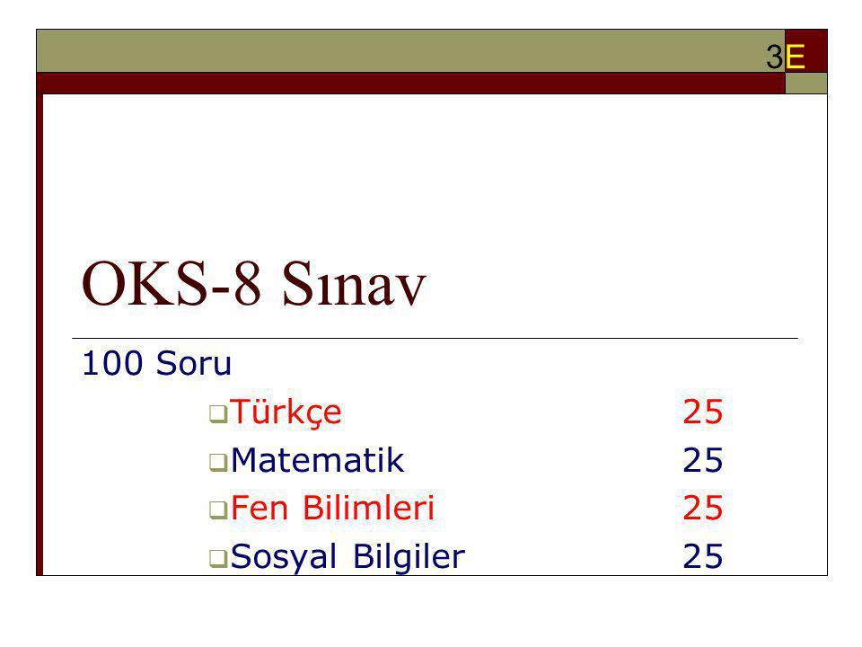 100 Soru Türkçe 25 Matematik 25 Fen Bilimleri 25 Sosyal Bilgiler 25