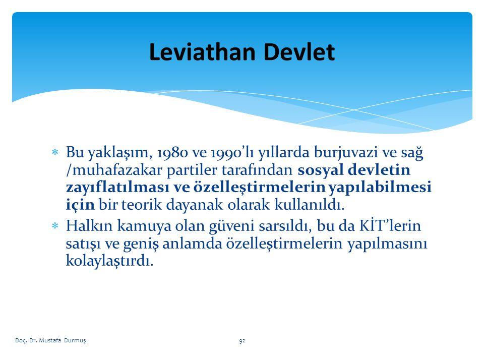 Leviathan Devlet