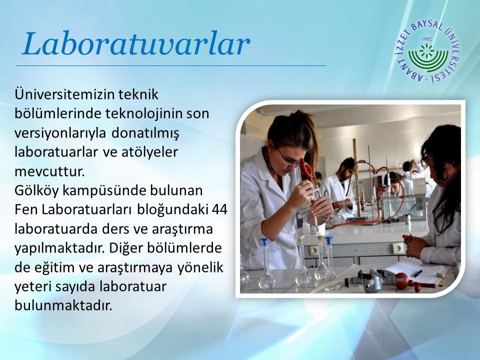 Laboratuvarlar Üniversitemizin teknik bölümlerinde teknolojinin son versiyonlarıyla donatılmış laboratuarlar ve atölyeler mevcuttur.