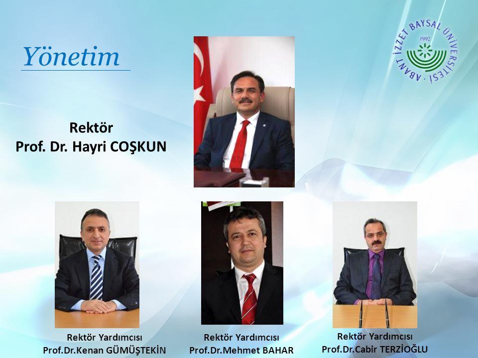 Prof.Dr.Kenan GÜMÜŞTEKİN Prof.Dr.Cabir TERZİOĞLU