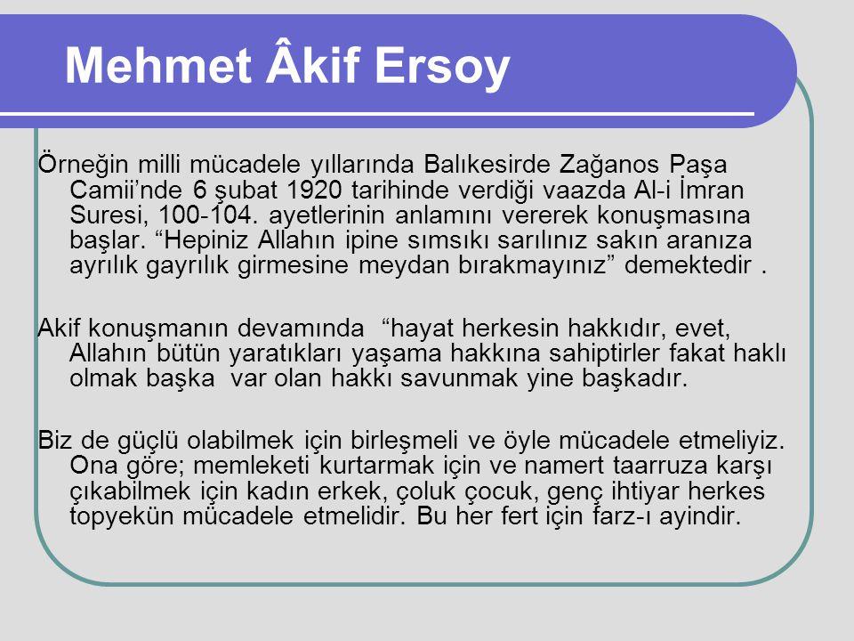 Mehmet Âkif Ersoy