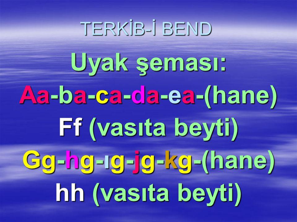 Aa-ba-ca-da-ea-(hane) Gg-hg-ıg-jg-kg-(hane)