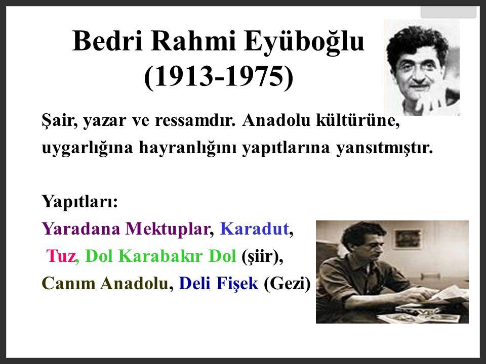 Bedri Rahmi Eyüboğlu (1913-1975)
