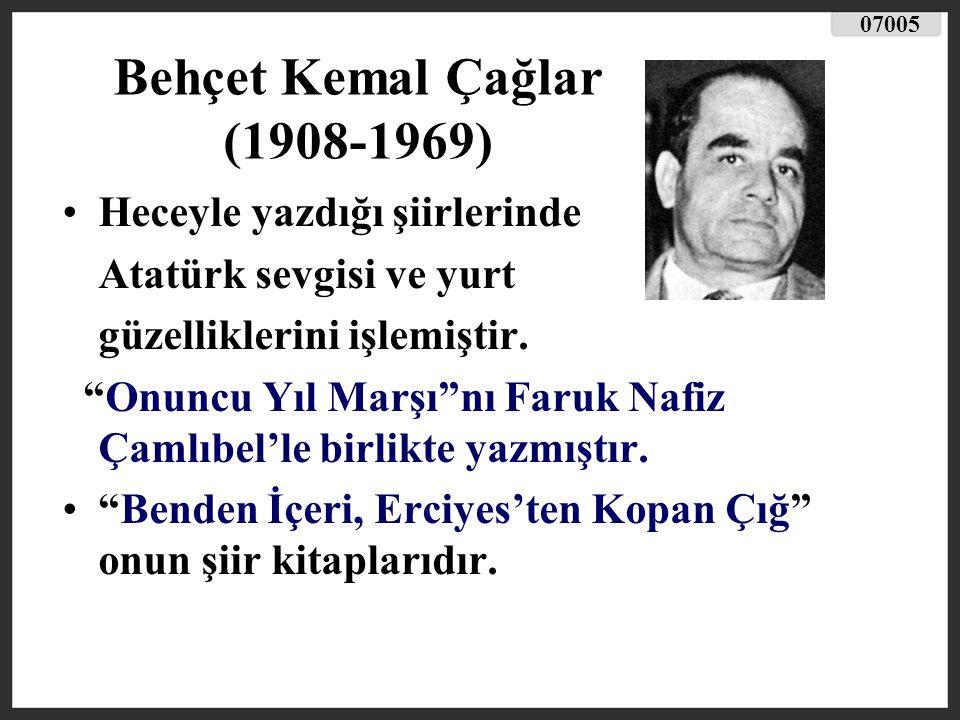 Behçet Kemal Çağlar (1908-1969)