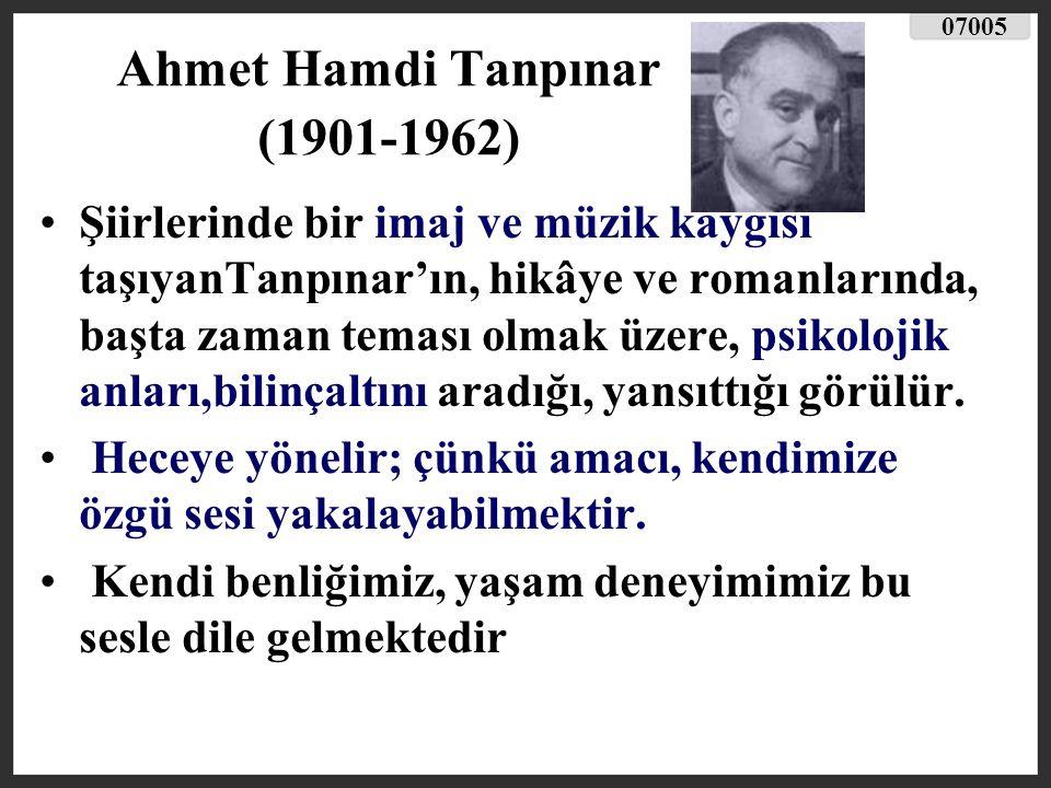 Ahmet Hamdi Tanpınar (1901-1962)