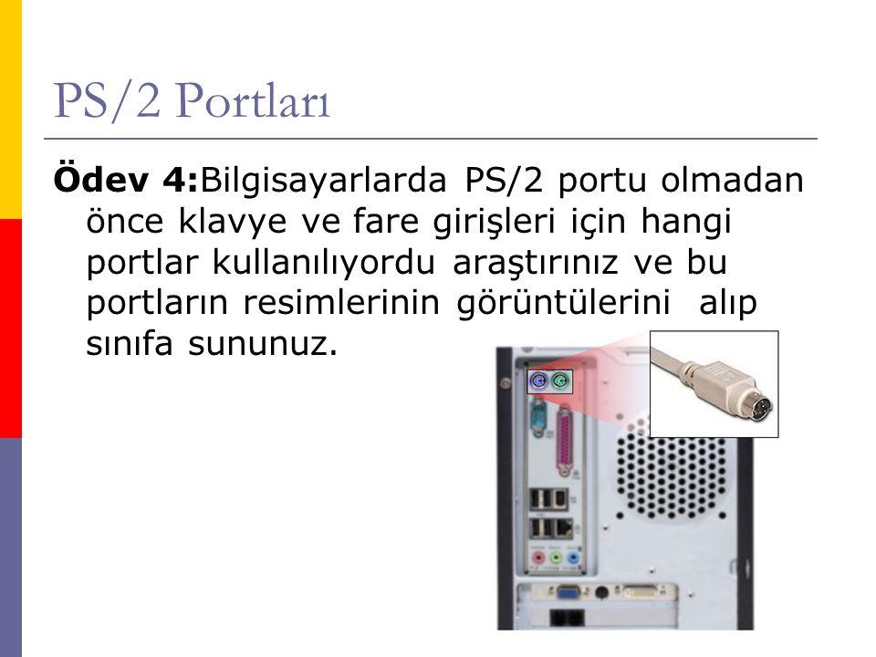 PS/2 Portları
