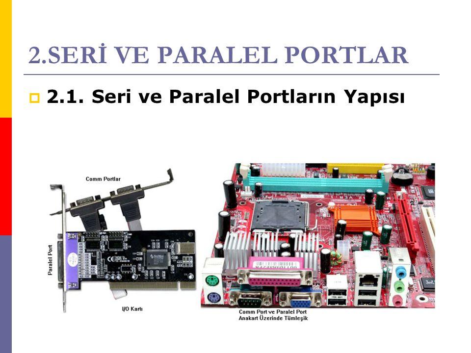 2.SERİ VE PARALEL PORTLAR