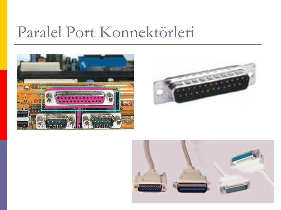 Paralel Port Konnektörleri
