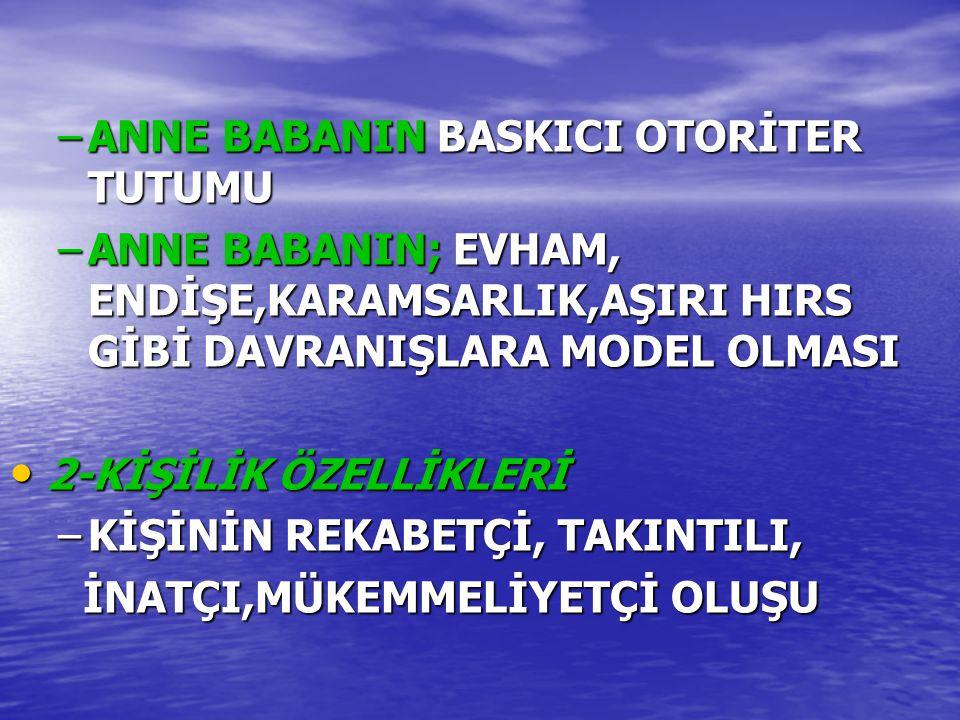 ANNE BABANIN BASKICI OTORİTER TUTUMU