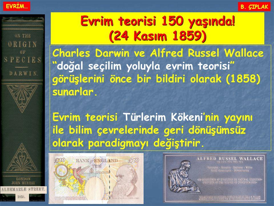Evrim teorisi 150 yaşında! (24 Kasım 1859)