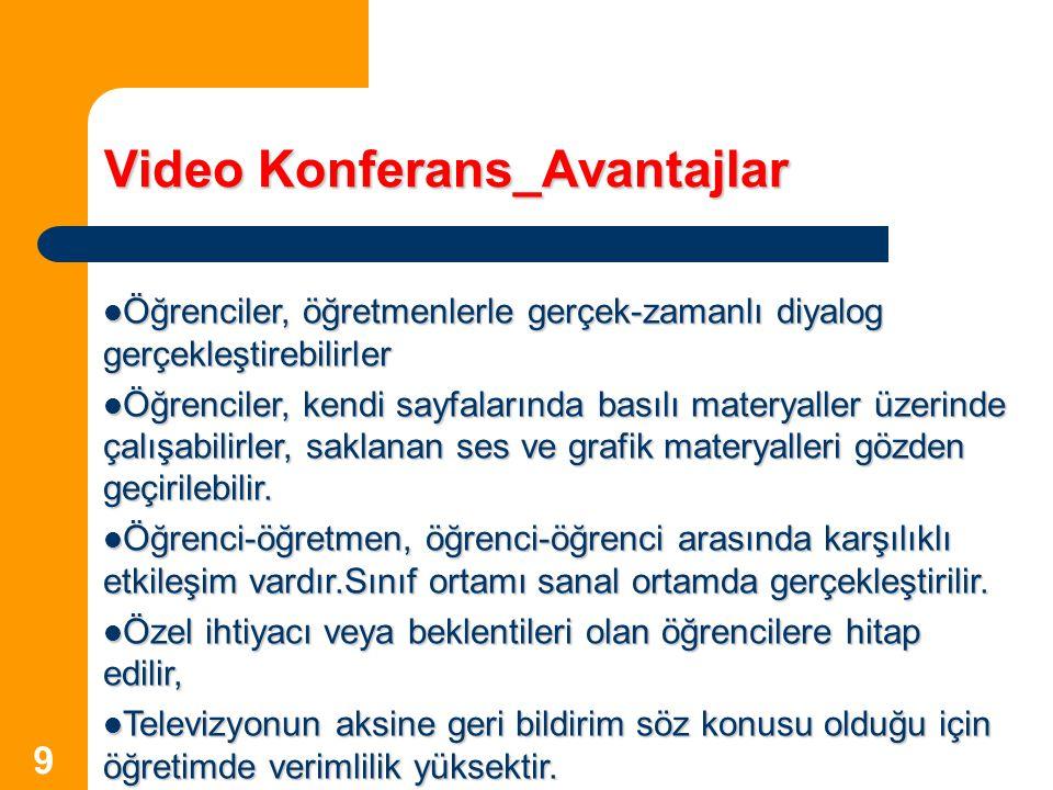 Video Konferans_Avantajlar