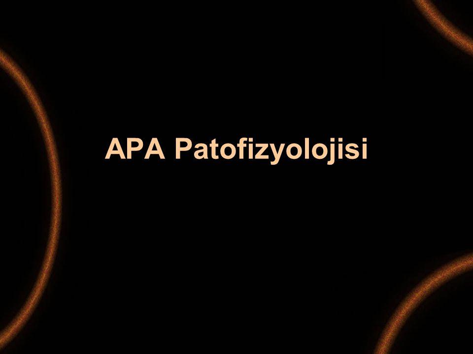 APA Patofizyolojisi
