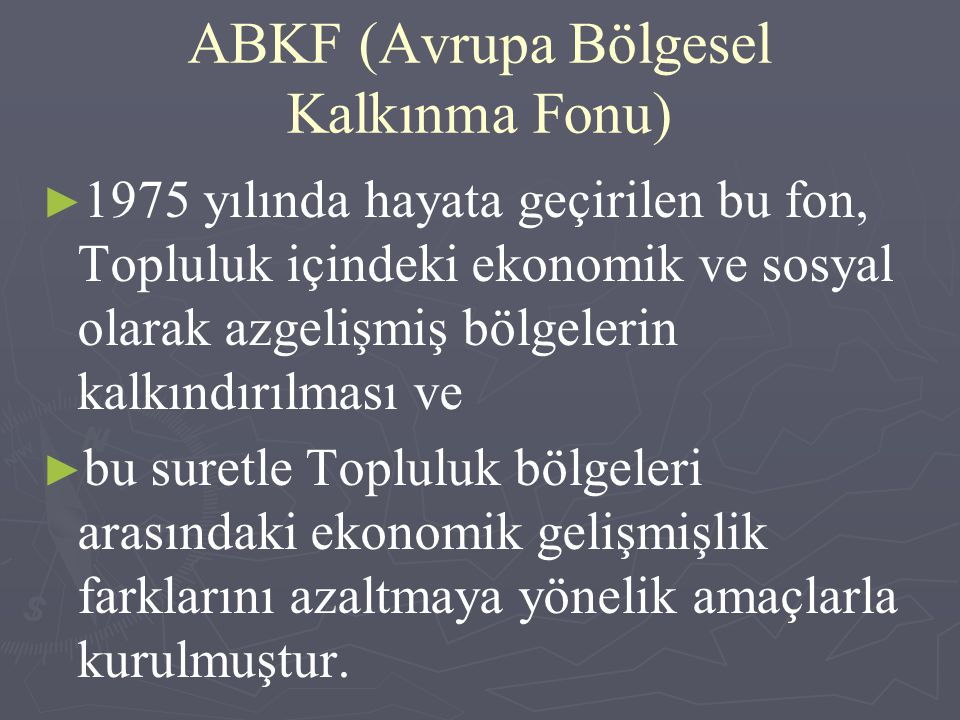 ABKF (Avrupa Bölgesel Kalkınma Fonu)