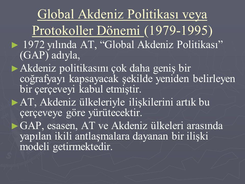 Global Akdeniz Politikası veya Protokoller Dönemi (1979-1995)