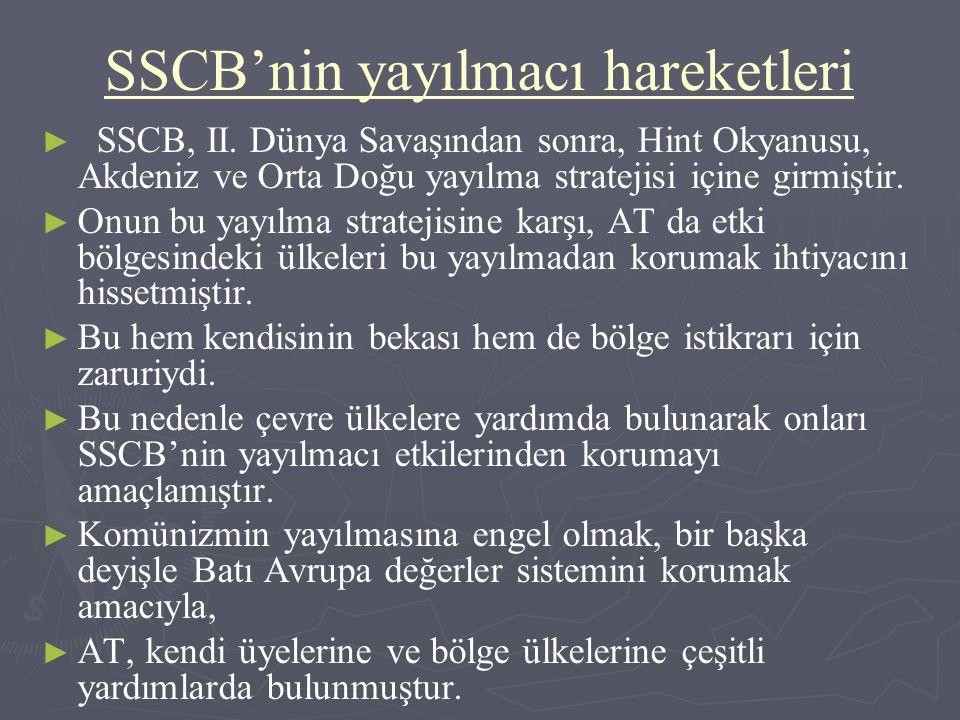 SSCB'nin yayılmacı hareketleri