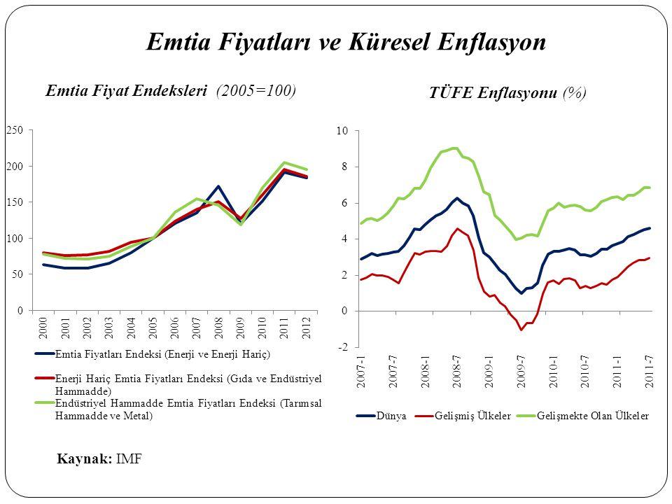 Emtia Fiyatları ve Küresel Enflasyon