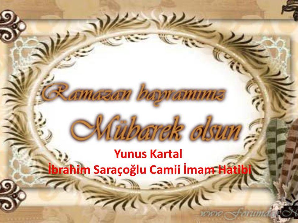 İbrahim Saraçoğlu Camii İmam Hatibi
