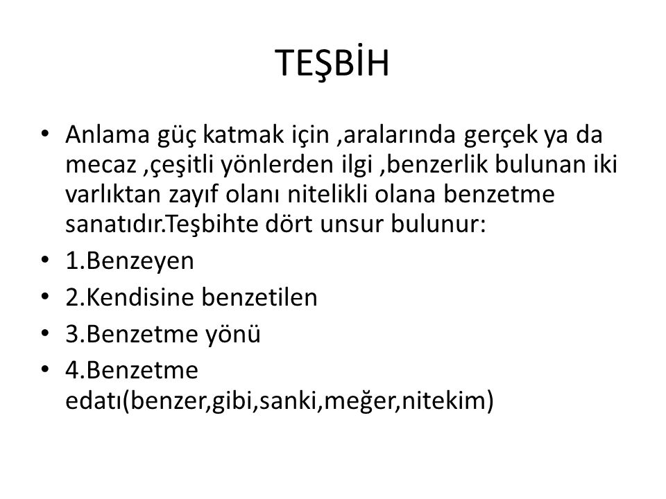 TEŞBİH
