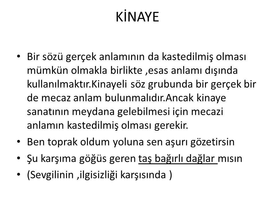KİNAYE