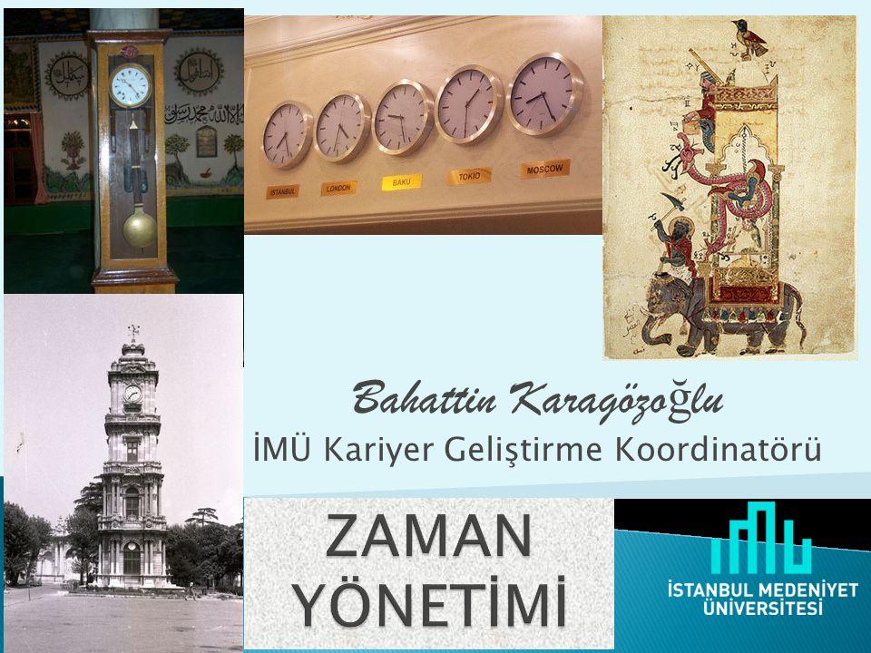 Bahattin Karagözoğlu İMÜ Kariyer Geliştirme Koordinatörü