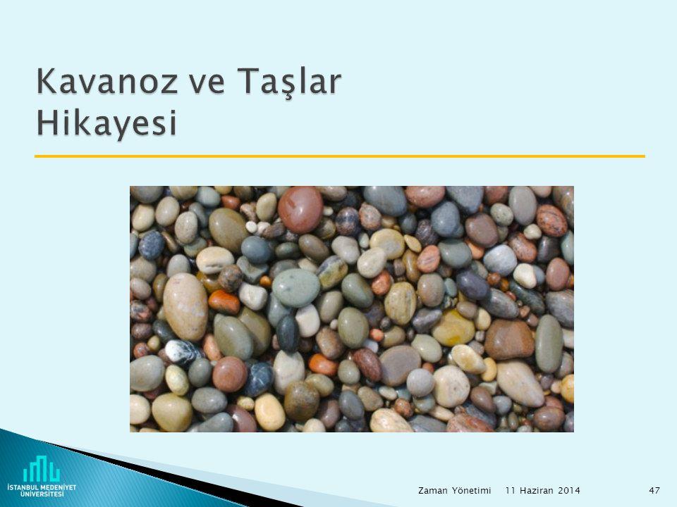 Kavanoz ve Taşlar Hikayesi