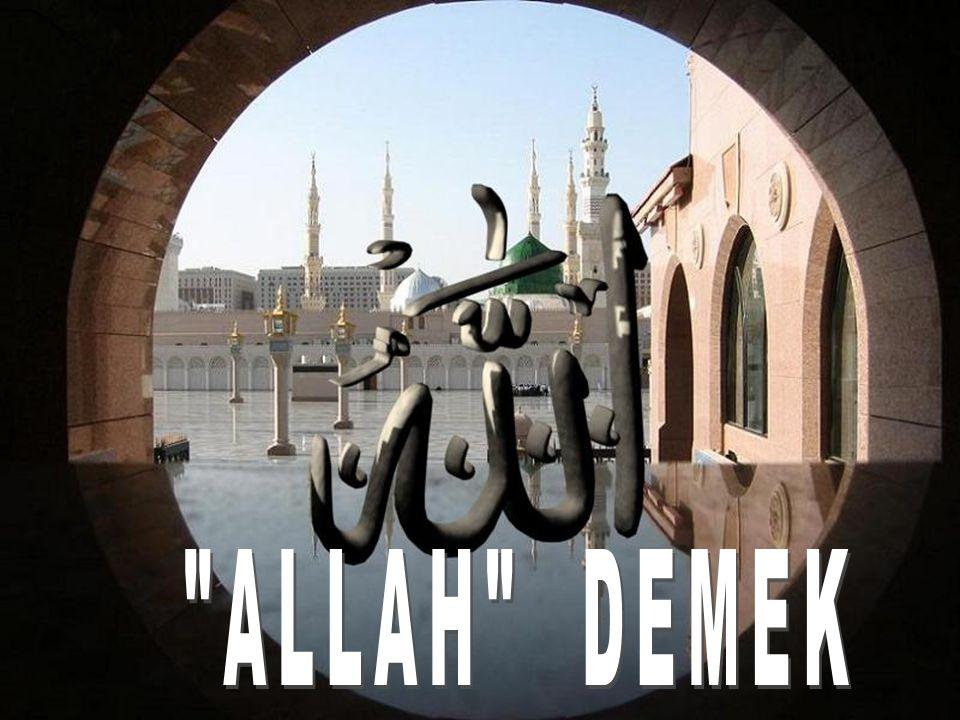 ALLAH DEMEK