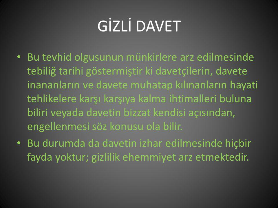 GİZLİ DAVET