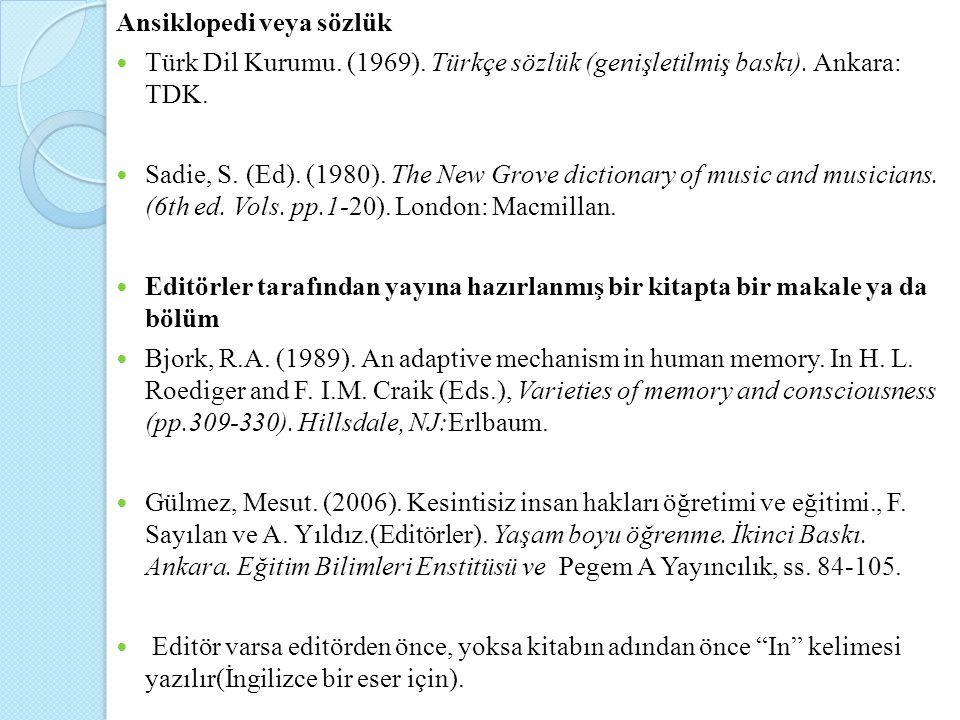 Ansiklopedi veya sözlük