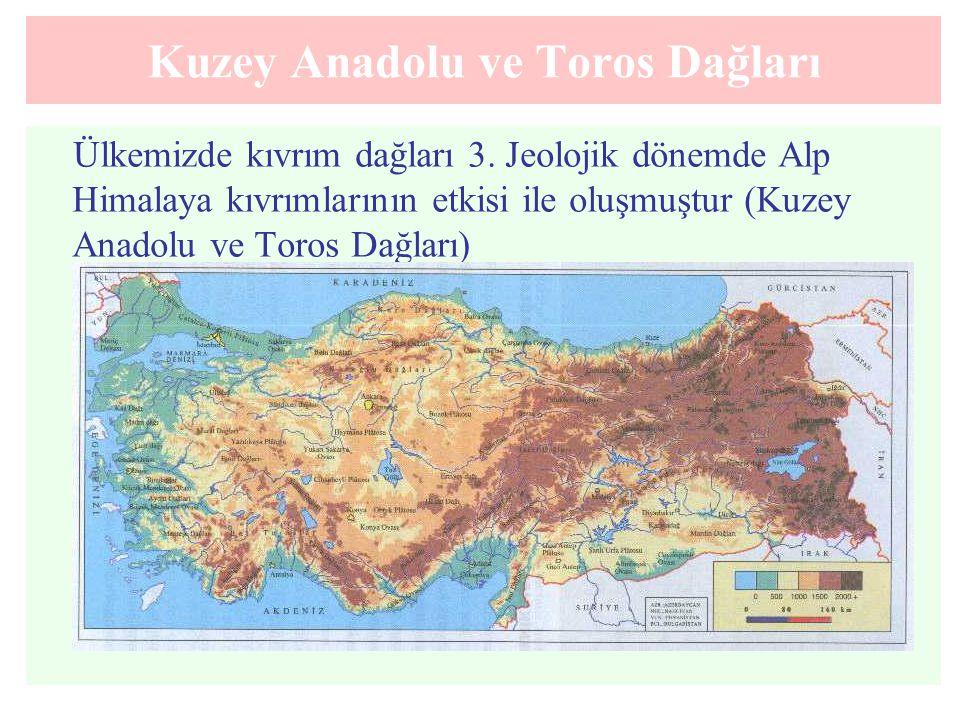 Kuzey Anadolu ve Toros Dağları