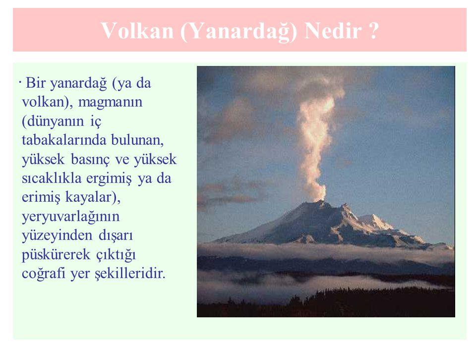 Volkan (Yanardağ) Nedir