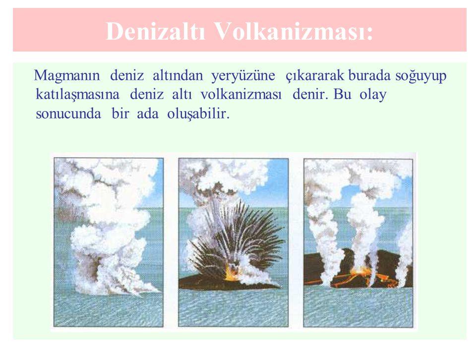 Denizaltı Volkanizması:
