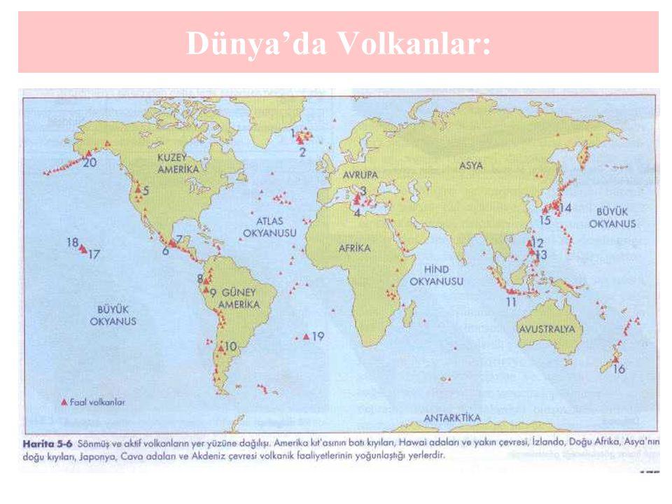 Dünya'da Volkanlar: