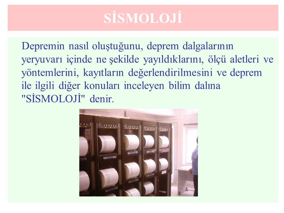SİSMOLOJİ