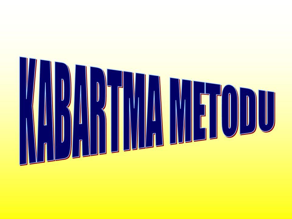 KABARTMA METODU