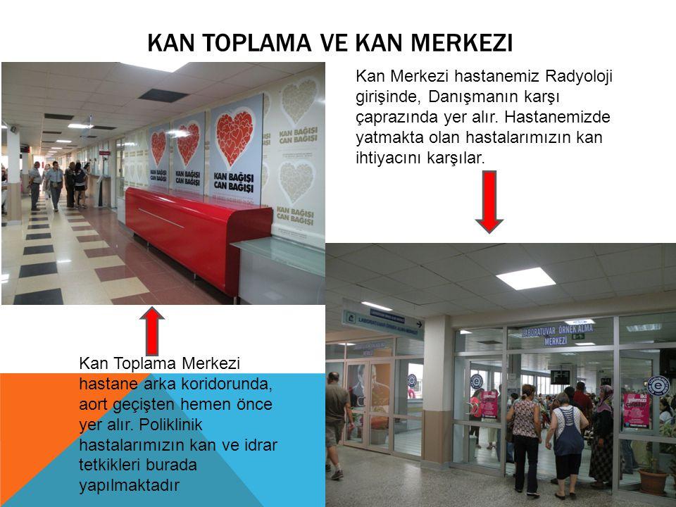 KAN TOPLAMA VE Kan Merkezi