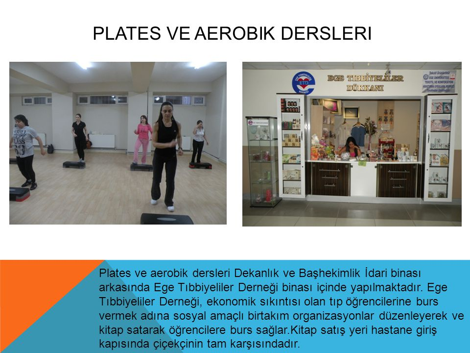 Plates ve Aerobik Dersleri
