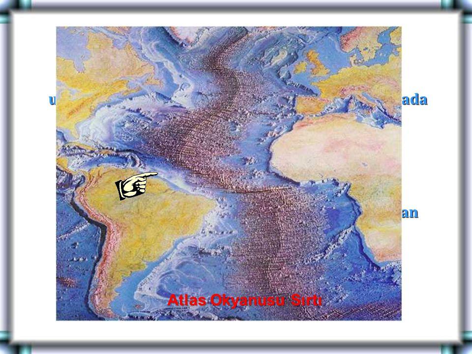 Örnek: Atlas okyanusu sırtı.