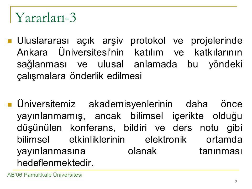 Yararları-3